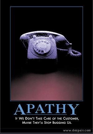 Apathy